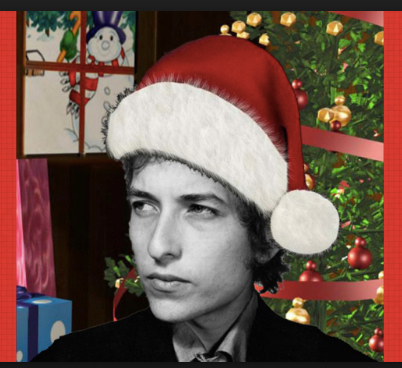 Bob Dylan Santa - Christmas Images (Fun)