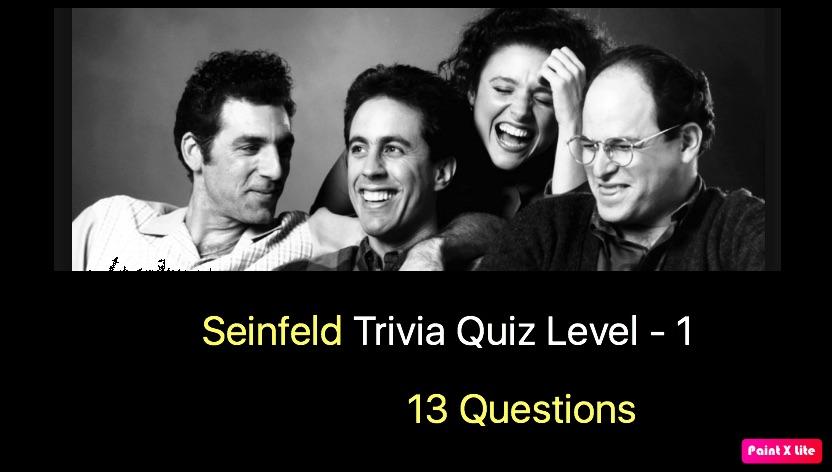 Seinfeld Quiz 1