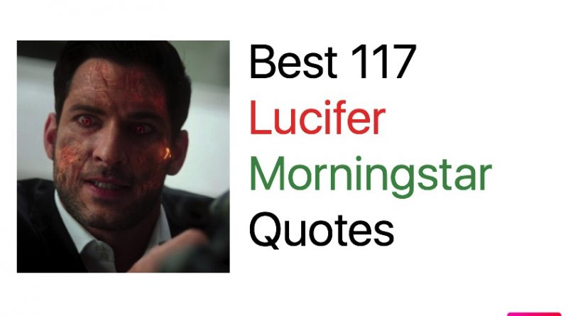Best 117 Lucifer Morningstar Quotes