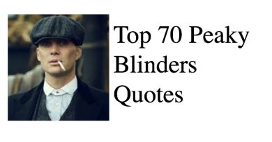 Top 70 Peaky Blinders Quotes