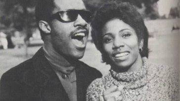"""September 14, 1970 Stevie Wonder married singer Rita """"Syreeta"""" Wright"""