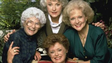 "September 14, 1985 - The popular series ""The Golden Girls"" debuted on NBC-TV"